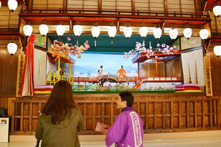 八女福島の燈籠人形