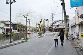 柳川の町歩き