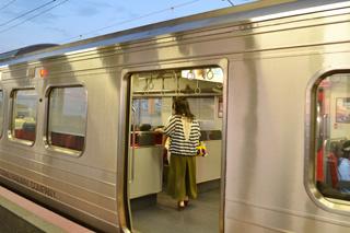 JR鹿児島本線に乗車