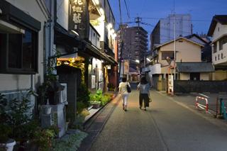 羽犬塚の街