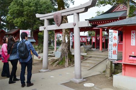 恋木神社の鳥居