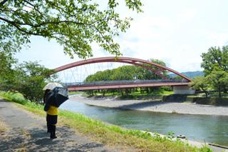 船小屋温泉大橋