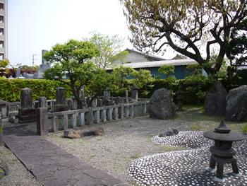 安東省庵の墓