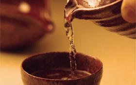 八女茶焙炉式焙煎法体験