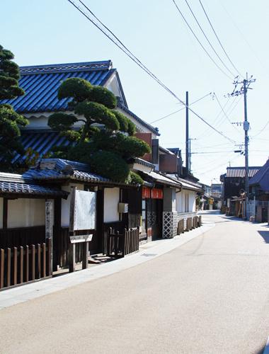 藩境の町歩き