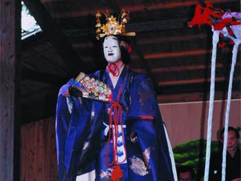 宝満神社奉納能楽