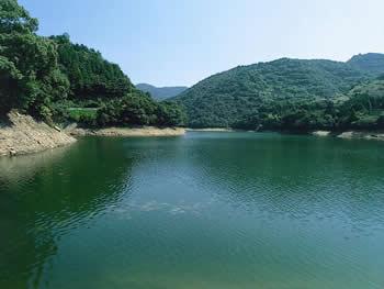 蒲池山ため池