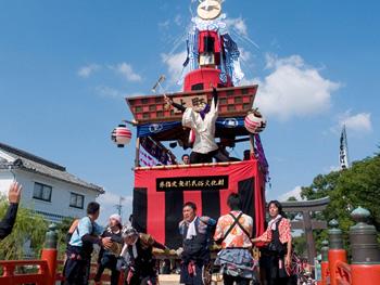 三柱神社大祭・おにぎえ