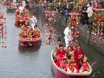 柳川雛祭り さげもんめぐり