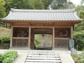 谷川寺の仁王像