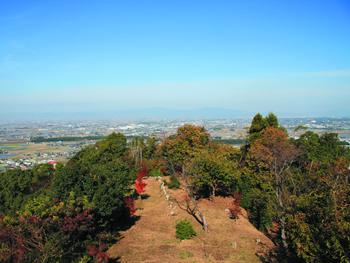 女山史跡森林公園展望台