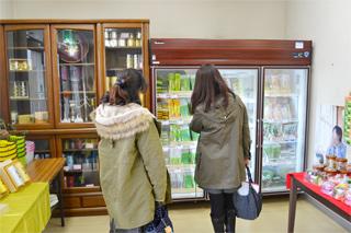八女中央大茶園の売店