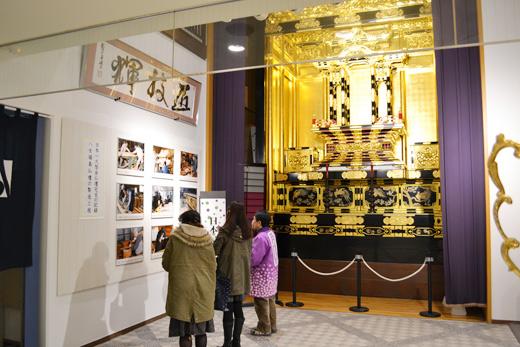日本一大型金仏壇