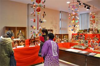 八女伝統工芸館別室の展示