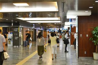 博多駅新幹線乗り場