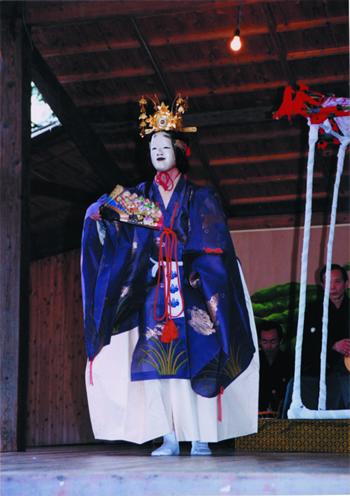宝満神社奉納能楽(新開能)