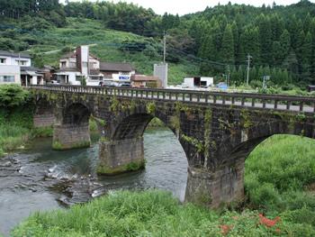 上陽地区の石橋群