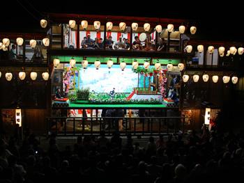 八女福島の燈籠人形公演